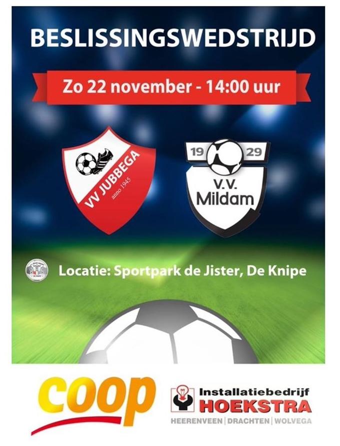 VV-Jubbega-VV-Mildam 22-11-2015
